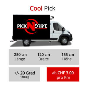 Thermofahrzeug Transport